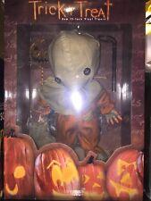 "Sideshow Collectibles Trick 'r Treat Sam 15"" Vinyl Figure Halloween Horror Doll"