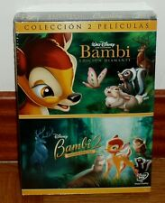 BAMBI EDITION DIAMOND+BAMBI 2 EDITION SPECIAL DISNEY 2 DVD NEW SEALED R2