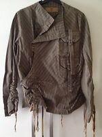 BNWT, Grey Pinstripe Jacket, Carling In Love, Size Small