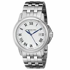 Raymond Weil Tradition 5578-ST-00300 Stainless Steel Silver Tone Watch $1,050