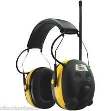 3M Stereo AM/FM Radio Hearing Sound Protector Earmuff Headset 9054-80025T