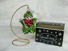 """Christopher Radko """"Holly Jean"""" Ornament~Excellent! with tags & box"""