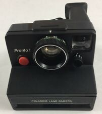Vintage Polaroid Land Camera Pronto Instant Film Working Tested with strap