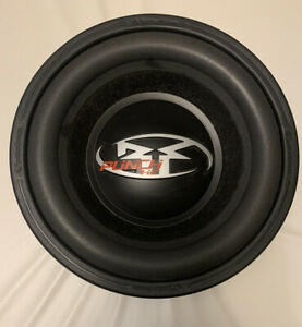 "Old School Car Audio! Rockford Fosgate He Rfp3410 10"" Svc 4ohm Subwoofer"