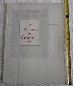 1880-1930 A Half-Century at Cornell - a retrospect by the Cornell Daily Sun