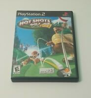 Hot Shots Golf: Fore (Sony PlayStation 2, 2004) Complete & Tested