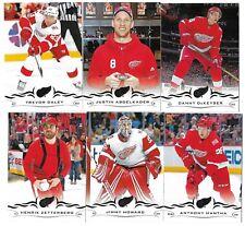 2018-19 Upperdeck Series 1 Hockey Team set DETROIT RED WINGS (6 cards)