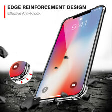 Transparent TPU Bumper Corner Cushion Shockproof Clear Case Cover For iPhone X