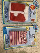 Webkins 2 Sets New Santa And Polo Dress Doll Clothes