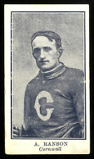 1912 C61 IMPERIAL TOBACCO LACROSSE #31 A. RANSON VG CORNWALL TEAM