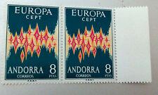 TIMBRE ANDORRE EUROPA YT 64 A