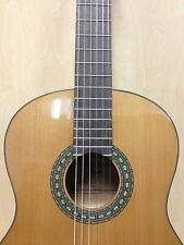 Caraya SCG-978/NP Full Size Solid Top Nylon String Classical Guitar Pack-Natural