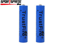 2PCS TrustFire 3.7V AAA/10440 Rechargeable Li-ion Battery for Flashlight Torch