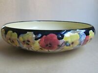 "ROYAL DOULTON PANSY D4049 SERIES 10¾"" SHALLOW BOWL (Ref4381)"
