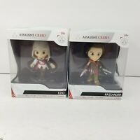 "Assassin's Creed Lot of 2 Collectible 3"" Figure Series 1 Ezio & Kassandra"