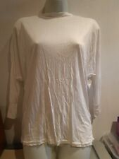 White/cream Thin Lace Back Top. Size 8-10?. New