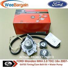 FORD MONDEO MK4 2.0 TDCI VOLVO 2.0D GATES KP15606XS Timing Belt Kit Water Pump