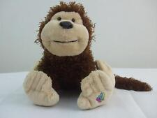 "Plush Stuffed Animal Cheeky Monkey Webkinz Lil' Kinz HM080 GANZ No Code NoTag 8"""