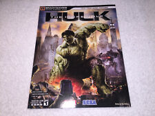 The Incredible Hulk (Brady Official Strategy Guide: PS3, Xbox 360) Brand New!