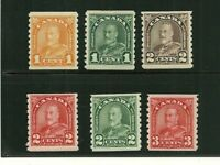 1930 Canada SC 178-183 Complete Set of 6 KGV King George V MNH VF Bright!     8