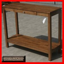 SOLID RUBBERWOOD RANGE Console Table /  Hall Desk Table [3 YEARS WARRANTY]