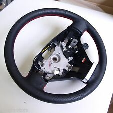 Red Stitch Leather Steering Wheel For Hyundai Tiburon Coupe 2003 2008
