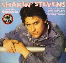 SHAKIN' STEVENS and the sunsets SHM 3065 uk hallmark LP PS EX-/EX-