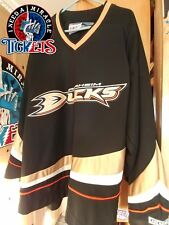 Anaheim Ducks  CCM OFFICIAL LICENSED NHL NEW Black Home Jersey