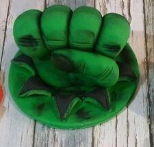 Edible Fondant Hulk Fist! 10cm Avengers! CAKE TOPPER!