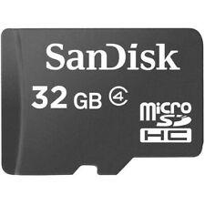 32gb microSDHC Memory Card with Micro SD reader