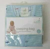 Aden + Anais Baby Sleeping Bag Blanket Lg 12-18 mos Sailboats Cotton Muslin NEW