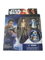 DISNEY HASBRO STAR WARS THE FORCE AWAKENS  POE DAMERON ARMOR UP ACTION FIGURE
