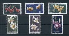 Flowers Flora Plants Lilies Albania MNH stamps set
