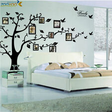 Large Photo Frame Family Tree Removable 3D Wall Stickers Art Decal Home Decor
