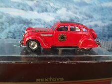 1/43  Rextoys (Portugal) Chrysler airflow Fire 1935