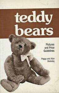 Antique Vintage Teddy Bears - Types Values / Illustrated Book