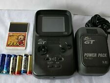 NEC PC ENGINE GT (TurboExpress PI-TG6) CONSOLE and Game set tested-c0611-