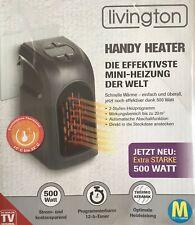 livington Handy Heater 500 Watt Heizung für die Steckdose - B-Ware
