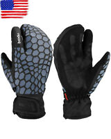 -30°C Ski Gloves Winter Warm Thermal Touch Screen Snowboard Mitten  Men Women US