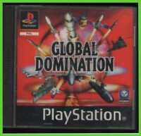 GLOBAL DOMINATION ps1 ITALIANO pal playstation u-1 ORIGINALE completo