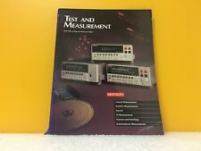Keithley Test +Measurement 1995-1996 Catalog + Reference Guide