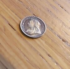 More details for victoria 1896 silver maundy 1p