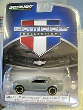 GREENLIGHT CAMARO S#1 2011 Primer Gray Custom Chevrolet Camaro SS #29750 NOC