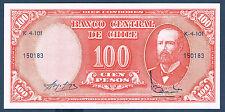 BILLET de BANQUE CHILI.10 CENTESIMOS Pick n°127 de 1960 en NEUF K-4-101 150183