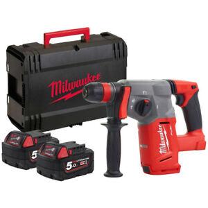 MILWAUKEE   M18CHX-502X   Tassellatore SDS Plus 2.5J + 2 Batterie 18V 5.0Ah