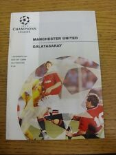 07/12/1994 Manchester United v Galatasaray [Champions League] . Thanks for viewi