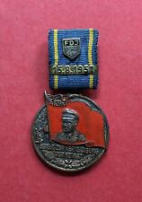 DDR Abzeichen Ehrennadel FDJ ERNST THÄLMANN Medaille Verl. Nr. 75  ( M635