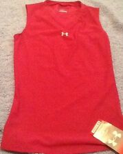 Under Armour Womens Pink Magenta Sleeveless Top NWT