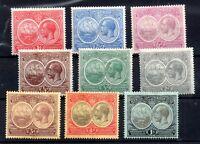 Bermuda 1920 KGV mint MH set x 9V #59-67 WS15463