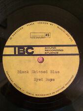 "TONY MORGAN Black Skin Blue Eyed Boys 7"" acetate THE EQUALS EDDY GRANT rare funk"